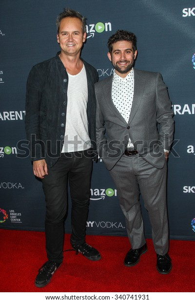 LOS ANGELES, CA/USA -  NOVEMBER  09  2015: Roy Price, left, and Joe Lewis attend the Red Carpet Premiere Screening For Season Two of 'Transparent' .