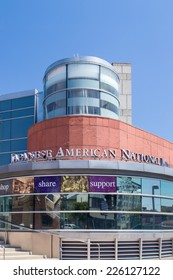LOS ANGELES, CA/USA - SEPTEMBER 30, 2014: The Japanese American National Museum in the Little Tokyo district of downtown Los Angeles.