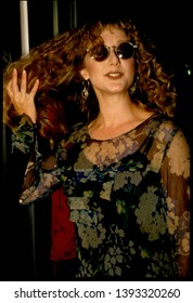 LOS ANGELES - circa 1991: Actress Carol Kane leaves Spago restaurant.