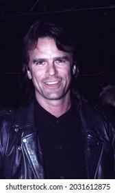 Los Angeles - circa 1992: Actor Richard Dean Anderson arrives at Roxbury nightclub.