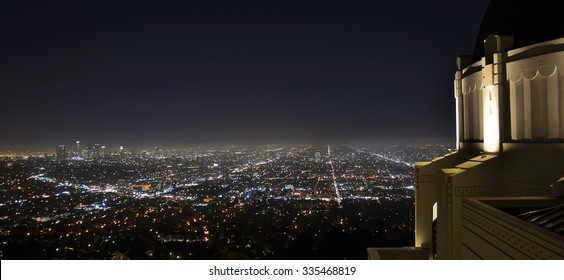Los Angeles City Skyline from the Griffith Observatory