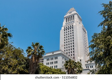 The Los Angeles County courthouse building in California.