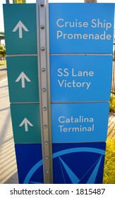 los angeles cruise terminal sign