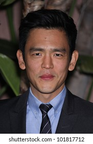 LOS ANGELES - DEC 01:  John Cho arrives to the Beat The Odds Award 2011  on December 01, 2011 in.Beverly Hills, CA.
