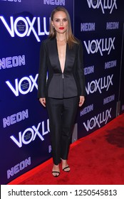 """LOS ANGELES - DEC 05:  Natalie Portman arrives to the """"Vox Lux"""" Los Angeles Premiere  on December 5, 2018 in Hollywood, CA"""