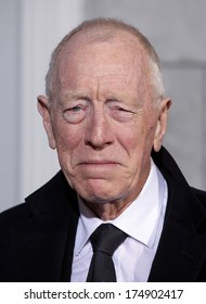 """LOS ANGELES - DEC 06:  MAX von SYDOW arrives to the """"Sherlock Holmes A Game of Shadows"""" Los Angeles Premiere  on December 06, 2011 in Westwood, CA"""
