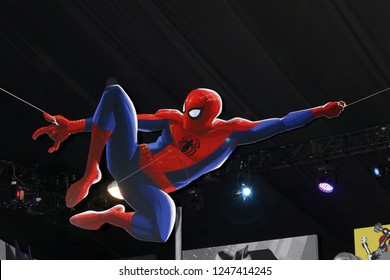 "LOS ANGELES - DEC 1:  Atmosphere at the ""Spider-Man:  Into the Spider-Verse"" Premiere at the Village Theater on December 1, 2018 in Westwood, CA"