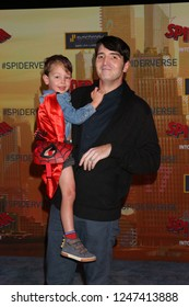 "LOS ANGELES - DEC 1:  David Dastmalchian, guest at the ""Spider-Man:  Into the Spider-Verse"" Premiere at the Village Theater on December 1, 2018 in Westwood, CA"