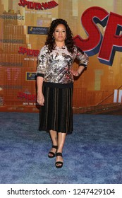 """LOS ANGELES - DEC 1:  Lauren Velez at the """"Spider-Man:  Into the Spider-Verse"""" Premiere at the Village Theater on December 1, 2018 in Westwood, CA"""