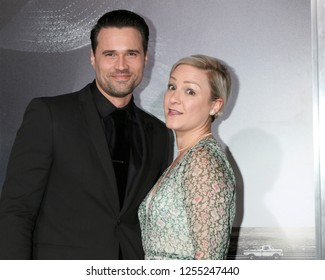 """LOS ANGELES - DEC 10:  Brett Dalton, Melissa Trn at the """"The Mule"""" World Premiere at the Village Theater on December 10, 2018 in Westwood, CA"""