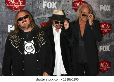 LOS ANGELES - DEC 10:  Lynyrd Skynyrd arrives to the American Country Awards 2012 at Mandalay Bay Resort and Casino on December 10, 2012 in Las Vegas, NV