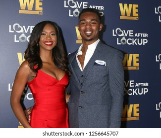 LOS ANGELES - DEC 11:  Bayleigh Dayton, Chris Williams, Swaggy C at the WE tv's Real Love:  Relationship Reality at the Paley Center for Media on December 11, 2018 in Beverly Hills, CA