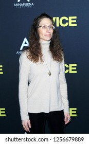 """LOS ANGELES - DEC 11:  Bonnie Aarons at the """"Vice"""" Prmiere at the Samuel Goldwyn Theater on December 11, 2018 in Beverly Hills, CA"""