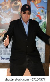 "LOS ANGELES - DEC 11:  Dan Aykroyd  arrives at the ""Yogi Bear 3-D"" Premiere at The Village Theater on December 11, 2010 in Westwood, CA."