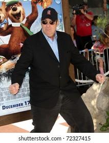 LOS ANGELES - DEC 11:  Dan Aykroyd arrives to the 'Yogi Bear' Los Angeles Premiere  on December 11, 2010 in Westwood, CA