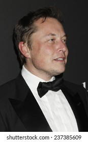 LOS ANGELES - DEC 11:  Elon Musk at the Rihanna's First Annual Diamond Ball at the The Vineyard on December 11, 2014 in Beverly Hills, CA