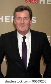 LOS ANGELES - DEC 11:  Piers Morgan arrives at the 2011 CNN Heroes Awards at Shrine Auditorium on December 11, 2011 in Los Angeles, CA