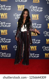 LOS ANGELES - DEC 11:  Rachel Lindsay at the WE tv's Real Love:  Relationship Reality at the Paley Center for Media on December 11, 2018 in Beverly Hills, CA