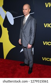 """LOS ANGELES - DEC 11:  Sam Rockwell arrives to """"Vice"""" World Premiere  on December 11, 2018 in Hollywood, CA"""