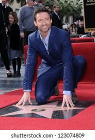 LOS ANGELES - DEC 12:  Hugh Jackman arriving to Walk of Fame Honors Hugh Jackman on December 12, 2011 in Hollywood, CA