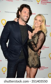 LOS ANGELES - DEC 12:  Maksim Chmerkovskiy, Peta Murgatroyd at the Childrens Miracle Network Winter Wonderland Ball, at the Avalon Hollywood on December 12, 2015 in Los Angeles, CA