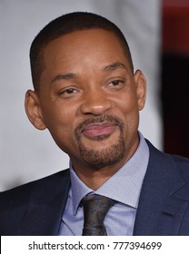 """LOS ANGELES - DEC 13:  Will Smith arrives for the """"Bright"""" Los Angeles Premiere on December 13, 2017 in Westwood, CA"""
