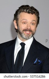 """LOS ANGELES - DEC 14:  Michael Sheen at the """"Passengers"""" Premiere at Village Theater on December 14, 2016 in Westwood, CA"""