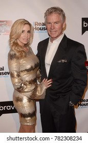 """LOS ANGELES - DEC 15:  Camille Grammer, David C Meyer at the """"Real Housewives of Beverly Hills"""" Season 8 Premiere Party at the Doheny Room on December 15, 2017 in West Hollywood, CA"""