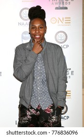LOS ANGELES - DEC 16:  Lena Waithe at the 49th NAACP Image Awards Nominees' Luncheon at Beverly Hilton Hotel on December 16, 2017 in Beverly Hills, CA