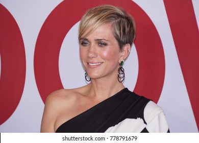 LOS ANGELES, DEC 18, 2017: Actress Kristen Wiig attends the Los Angeles Premiere of Downsizing on December 18th, 2017.