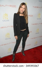 LOS ANGELES - DEC 3:  Eiza Gonzalez at the The Beauty Book For Brain Cancer Edition Two Launch Party at the Le Jardin on December 3, 2015 in Los Angeles, CA