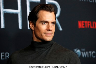 """LOS ANGELES - DEC 3:  Henry Cavill at the """"The Witcher"""" Premiere Screening at the Egyptian Theater on December 3, 2019 in Los Angeles, CA"""