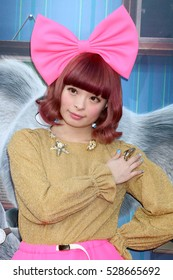 """LOS ANGELES - DEC 3:  Kyary Pamyu Pamyu at the """"Sing"""" Premiere at Microsoft Theater on December 3, 2016 in Los Angeles, CA"""