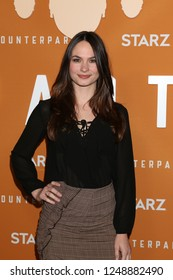 LOS ANGELES - DEC 3:  Laura Bellini at the Counterpoint Season 2 Premiere at the ArcLight Hollywood on December 3, 2018 in Los Angeles, CA