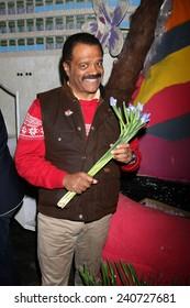 "LOS ANGELES - DEC 30:  Ted Lange at the Original ""Love Boat"" Cast decorates Princess Cruises' Rose Parade Float at a Rosemont Pavilion on December 30, 2014 in Pasadena, CA"