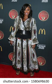 LOS ANGELES - DEC 4:  Angell Conwell at the 2019 Bounce Trumpet Awards at Dolby Theater on December 4, 2019 in Los Angeles, CA