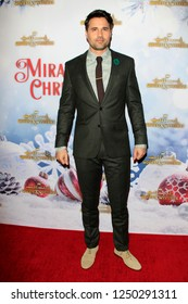 """LOS ANGELES - DEC 4:  Brett Dalton at the """"Once Upon A Christmas Miracle"""" Screening and Holiday Party at the 189 by Dominique Ansel on December 4, 2018 in Los Angeles, CA"""