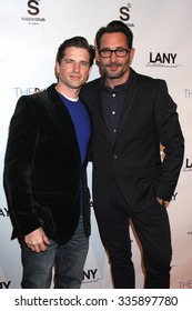 """LOS ANGELES - DEC 4:  Scott Bailey, Gregory Zarian at the """"The Bay"""" TV Pilot Industry Screening at Supperclub on December 4, 2013 in Los Angeles, CA"""