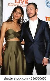 LOS ANGELES - DEC 4:  Tara Tucker, Jonathan Tucker at the TrevorLIVE Los Angeles 2016 at Beverly Hilton Hotel on December 4, 2016 in Beverly Hills, CA