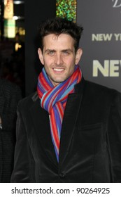 """LOS ANGELES - DEC 5:  Joey Mcintyre arrives at the """"New Year's Eve"""" World Premiere at Graumans Chinese Theater on December 5, 2011 in Los Angeles, CA"""