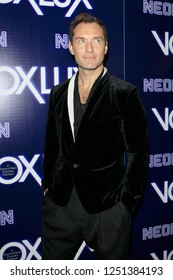 """LOS ANGELES - DEC 5:  Jude Law at the """"Vox Lux"""" Los Angeles Premiere at the ArcLight Hollywood on December 5, 2018 in Los Angeles, CA"""