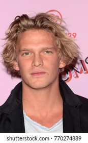 LOS ANGELES - DEC 6:  Cody Simpson at the 29Rooms West Coast Debut presented by Refinery29 at the ROW DTLA on December 6, 2017 in Los Angeles, CA