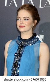 """LOS ANGELES - DEC 6:  Emma Stone at the """"La LA Land"""" World Premiere at Village Theater on December 6, 2016 in Westwood, CA"""