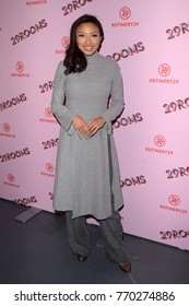 LOS ANGELES - DEC 6:  Jeannie Mai at the 29Rooms West Coast Debut presented by Refinery29 at the ROW DTLA on December 6, 2017 in Los Angeles, CA