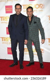 """LOS ANGELES - DEC 7:  Lawrence Zarian, Gregory Zarian at the """"TrevorLIVE LA"""" at the Hollywood Palladium on December 7, 2014 in Los Angeles, CA"""