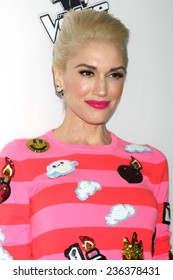 """LOS ANGELES - DEC 8:  Gwen Stefani at the NBC's """"The Voice"""" Season 7 Red Carpet Event at the HYDE Sunset: Kitchen + Cocktails on December 8, 2014 in West Hollywood, CA"""