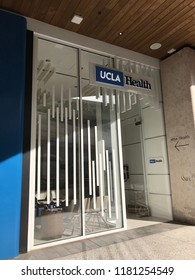 LOS ANGELES, Dec 9, 2017: Exterior of the UCLA Health Center at the Westfield Century City shopping mall in Century City, which provides medical and urgent care.