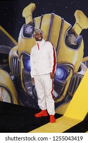 LOS ANGELES, DEC 9, 2018: Mike Holston on the red carpet at the global premiere of Paramount Pictures' new movie Bumblebee, at the Chinese Theatre in Hollywood, California.