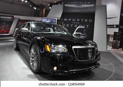 LOS ANGELES - DECEMBER 8: The Chrysler 300 at the 2012 Los Angeles Auto Show as seen on December 8, 2012 in Los Angeles, California.
