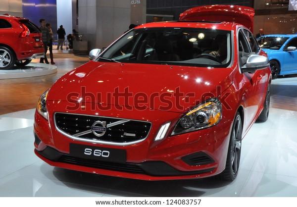 Volvo Dealership Los Angeles >> Los Angeles December 8 Volvo S60 Stock Photo Edit Now